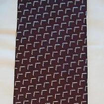 Armani Designer Necktie. Gorgeous High End Pure Silk Neck Tie. Giorgio Armani Photo