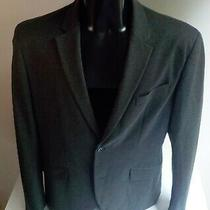 Armani Exchange A/x 2 Button Gray Rayon Blend Blazer/sport Coat Sz Large Photo