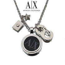 Armani Exchange A/x  Flying Eagle Necklace Authentic Photo