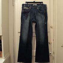 Armani Exchange A/x Men's Jean/wide Leg/twisted Seams(32x30) Unique Rare   Photo