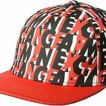 Armani Exchange Authentic Allover New Era Logo Hat Red Nwt Photo