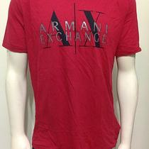 Armani Exchange Ax Mens Graphic Crewneck Tee Shirt Nwt Large Photo