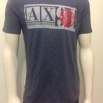 Armani Exchange Ax Mens Graphic Crewneck Tee Shirt Nwt Medium M2 Photo