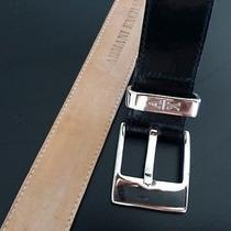 Armani Exchange Black Leather Belt Photo