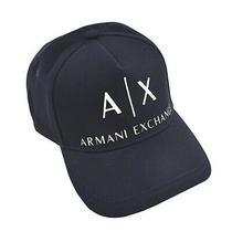 Armani Exchange Corp Logo Hat - Mans Hat 954039 Navy - Navy 37735 Photo