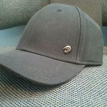 Armani Exchange Eagle Rivet Baseball Hat (Brand New) Gray Photo