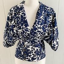 Armani Exchange Floral Blue Jacket  M Photo