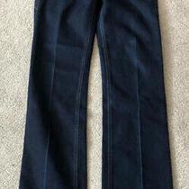 Armani Exchange Ladies Size 6 Dark Denim Blue Jeans Photo