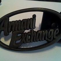 Armani Exchange Leather Belt Photo