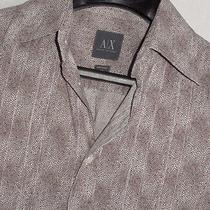 Armani Exchange Luxurious Lightweight Button Down Shirt Sz. Xs Photo
