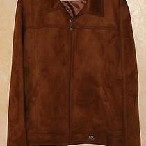 Armani Exchange Luxury Collection Mens Suede Jacket  Photo