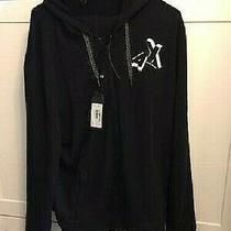 Armani Exchange Men's Jogging Suit  Sz L  3d Ax Logo Full-Zip Hoodie Brand New Photo