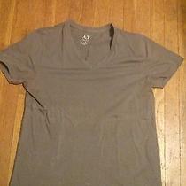 Armani Exchange Men's v-Neck T-Shirt Photo