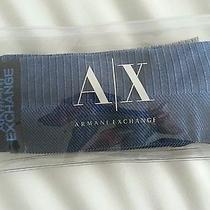 Armani Exchange  Men Socks   2 Pair  .new Photo