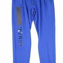 Armani Exchange Mens Pants Royal Blue Size Small S Pleat Sweatpants 90 029 Photo