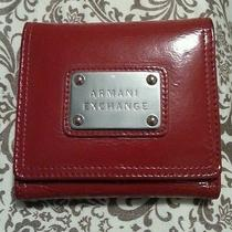 Armani Exchange Red Wallet  Photo
