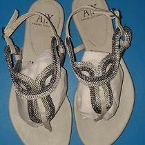Armani Exchange Sandals- Sz 9 -Slightly Used Photo