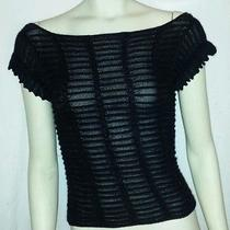 Armani Exchange  See-Through Swear Shirt    Szs  Photo