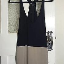 Armani Exchange Size Large (10-12) Swing Top Tank Black and Brown Pristine Con Photo