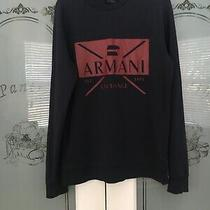 Armani Exchange Sweatshirt Mens Size Medium Photo