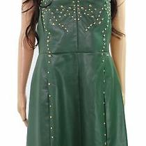 Armani Exchange Women's Dress Gold Green Size 12 Sheath Studded 180 191 Photo