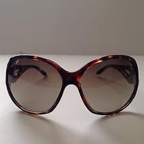 Armani Exchange Women's Sunglasses Ax112 Oversized Jackie O Lenses Tortoise  Photo