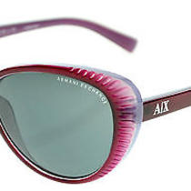 Armani Exchange Womens Sunglasses Ax4013 63mm Burgundy Light Chrome 805687 Photo