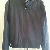 Armani Jeans Bomber Jacket Sz