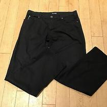 Armani Jeans Comfort Fit / Eco Wash Black Jeans Size 38 X 34 Vgc Photo
