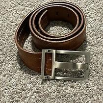 Armani Jeans Men's Leather Belt Made in Italy Photo