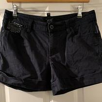Armani Jeans Navy Leightweight Jean Shorts Size Eu 28 Photo