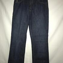Armani Jeans Simin T Spa Womens Blue Denim Size 29 Straight Leg Photo