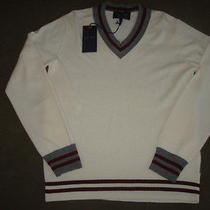 Armani Jeans v-Neck Sweater Size Large Photo