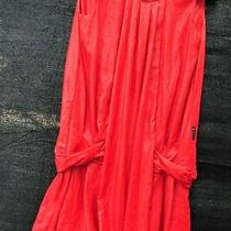 Armani Jeans Women's Shiny Red Summer Dress  Nwt Size  Eu 40 Us Size 4 Approx. Photo