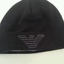 Armani Kids Winter Black Hat Photo