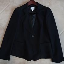 Armani Ladies / Women's High End Designer Black Jacket Size 48  (12) Photo