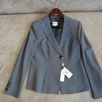 Armani Ladies / Women's High End Designer Jacket Size 44 Grey Color Photo