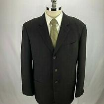 Armani Men's Brown Wool Blazer Jacket Sport Coat 42r Photo
