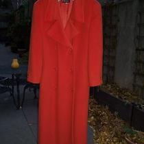 Armani Vintage Coat on Vogue Cover in 90's Bergdorf Us 8 Fabulous Color Photo