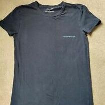 Armani Women's Blue T-Shirt Size M Photo