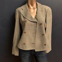 Armani Wool Blazer Jacket Sz 40 Photo