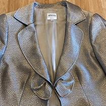 Armani Wool Blend Blazer Jacket Size 50 Eu 18 Uk L Immaculate Condition Photo