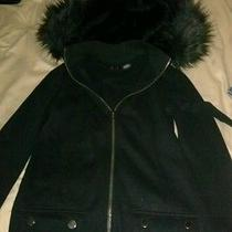 Armani Xs Sweatshirt With a Fur Hood Photo