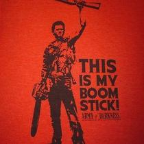 Army of Darkness-Bruce Campbell-This Is My Boom Stick-Men's Size Xl-Graphic Tee Photo