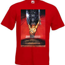 Army of Darkness V1 T-Shirt Bruce Campbell Movie Poster All Sizes S-5xl Photo