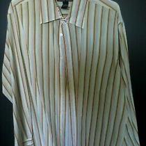 Arnold Zimberg Elements 100% Cotton Button Up Long Sleeve Shirt Xxl Photo