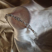 Art Deco Bandeau Bridal Swarovski Crystal Headband Photo