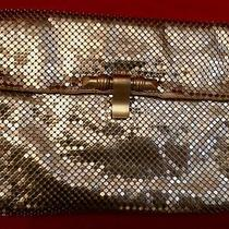 Art Deco Rare and Unusual Whiting & Davis Gold Mesh Clutch Purse Photo