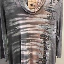 Art of Cloth Christy Cowl Tunic Size Small Photo