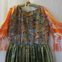 Art to Wear   One of a Kind Dress by Artist Photo